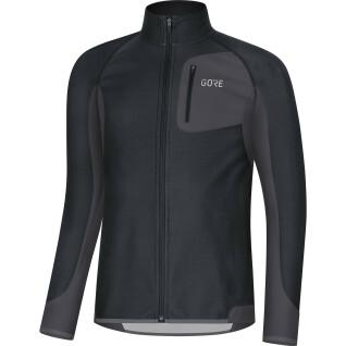 Gore R3 Partial Windstopper Long Sleeve Jersey