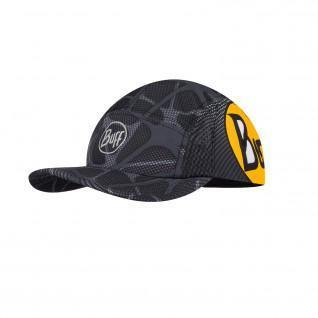 Buff run apex black cap