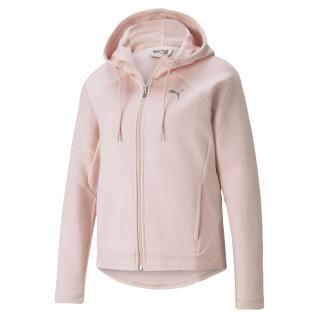 Women's full-zip sweatshirt Puma Evostripe