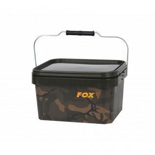 Fox 5 litre Camo Square Bucket