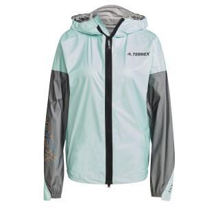 Women's rain jacket adidas Terrex Agravic Pro Trail Running