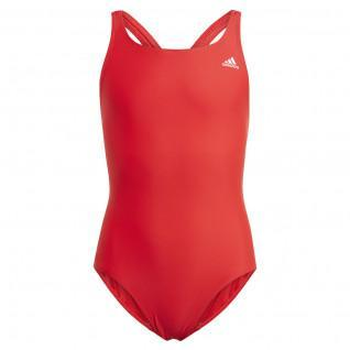 adidas Solid Fitness Children's Swimsuit