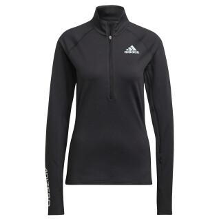 Sweatshirt woman adidas Adizero 1/2 Zip