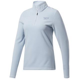 Women's fleece Reebok Outerwear Fleece Quarter-Zip