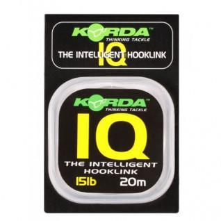 Nylon Korda The Intelligent Hooklink 10lb (4.5kg), 20m