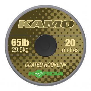 Kamo Korda coated Hooklink 65lb (29.4kg), 20m