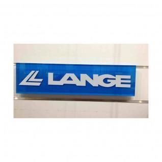 Lange block for a slatted wall