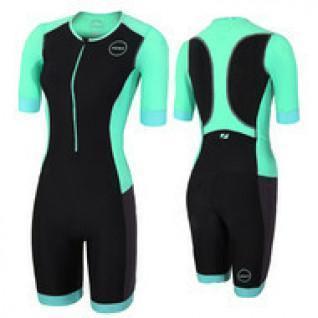 Zone3 women's wetsuit trifunction aquaflo short sleeves trisuit